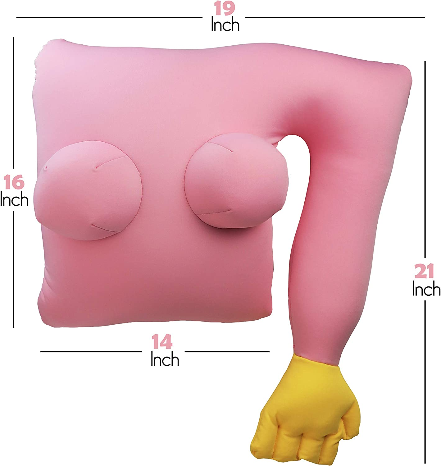 Girlfriend Body Pillow PInk: Amazon.co