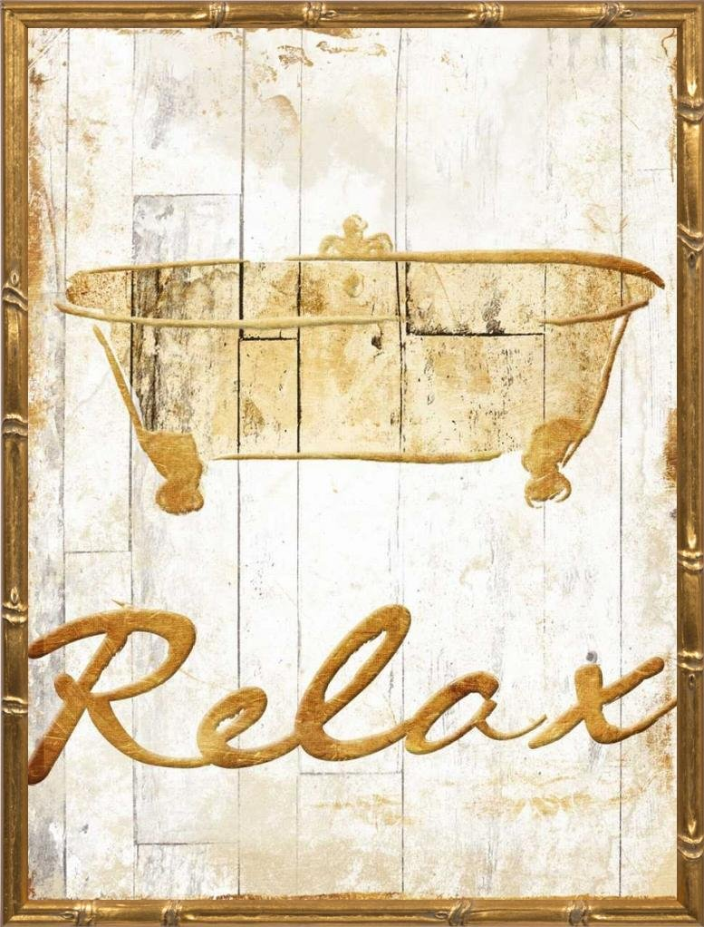 18x24 Gold Relax by Grey, Jace: Gold Bamboo JG-RC-451B