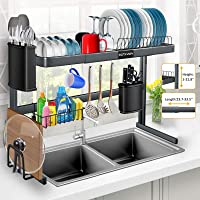 Over The Sink Dish Drying Rack Kitchen Countertop and Storage Deals