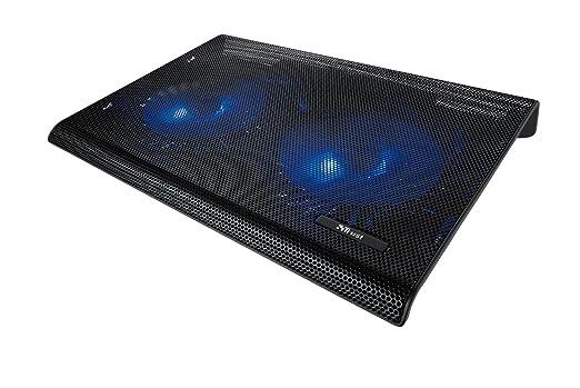 7 opinioni per Trust Azul Base di Raffreddamento per Laptop, con 2 Ventole Illuminate in Blu