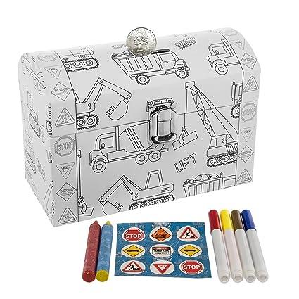 Amazoncom Dg Treasures Tri Coastal Design Kids Color Your Own