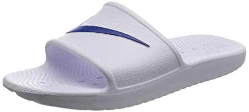 a40f61355 NIKE Mens Kawa Shower White Blue Moon Size 8  Buy Online at Low Prices in  India - Amazon.in