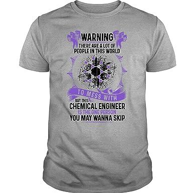 Amazon.com: ILCTee - Camiseta de ingeniería química con ...