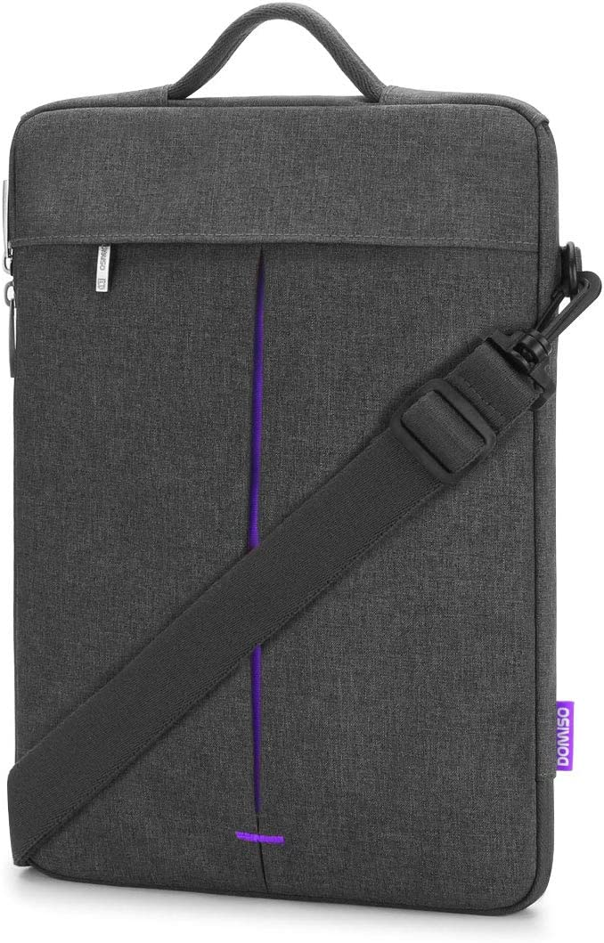 "DOMISO 14 Inch Laptop Shoulder Bag Sleeve Case for Lenovo 15.6"" ThinkPad T580 / Ideapad 720S / 530S / 15.6"" Dell New Inspiron 15 7000 7580/7586"