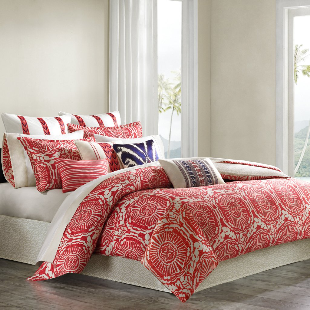 in plans amazon setscoral for www comforter coastal sets idea color colored coral bedding com total