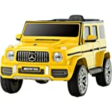 Uenjoy 12V Licensed Mercedes-Benz G63 Kids Ride On Car Electric Cars Motorized Vehicles for Girls,Boys, with Remote…