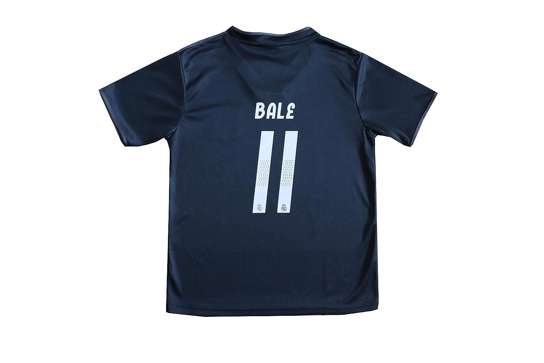 7ddf35f80 GamesDur 2018/2019 Real Madrid Bale #11 Away Black Football Soccer Kids  Jersey & Short & Sock & Soccer Bag Youth Sizes, Shorts - Amazon Canada