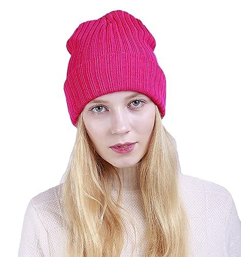 TY fashion - Gorro de punto - para mujer Rose Talla única
