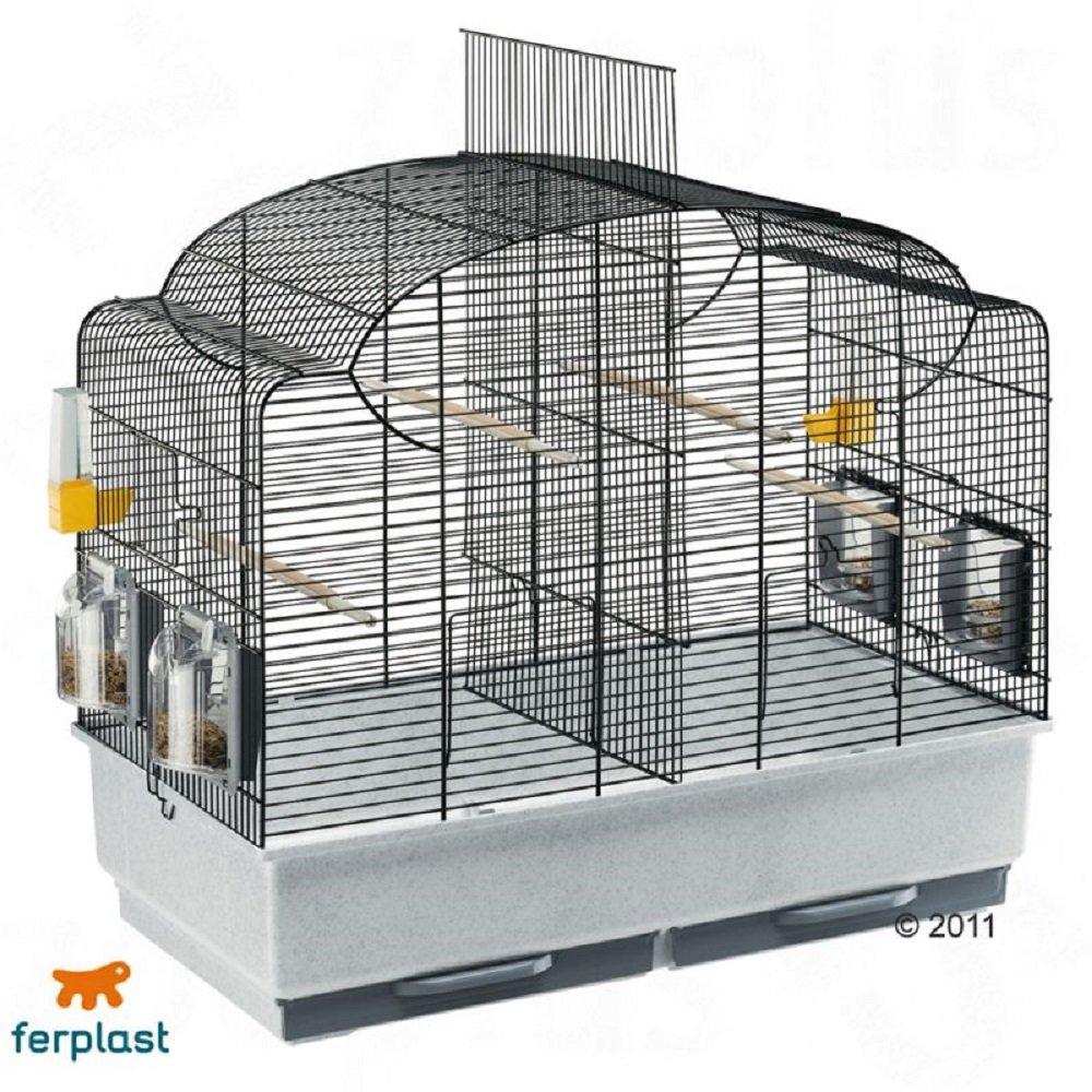 Jaula para pájaros de caña de ferplast: Amazon.es: Productos para ...