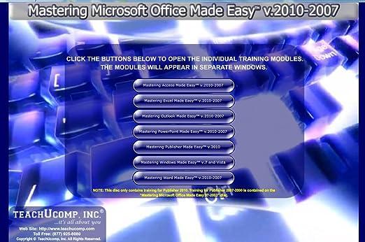 Amazon.com: Learn Microsoft Office 2010 and 2007 & Windows 7 - 48 ...