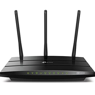 TP-Link AC1200 Smart WiFi Router - 5GHz Gigabit Dual Band Wireless Internet Router for Home(Archer C1200)