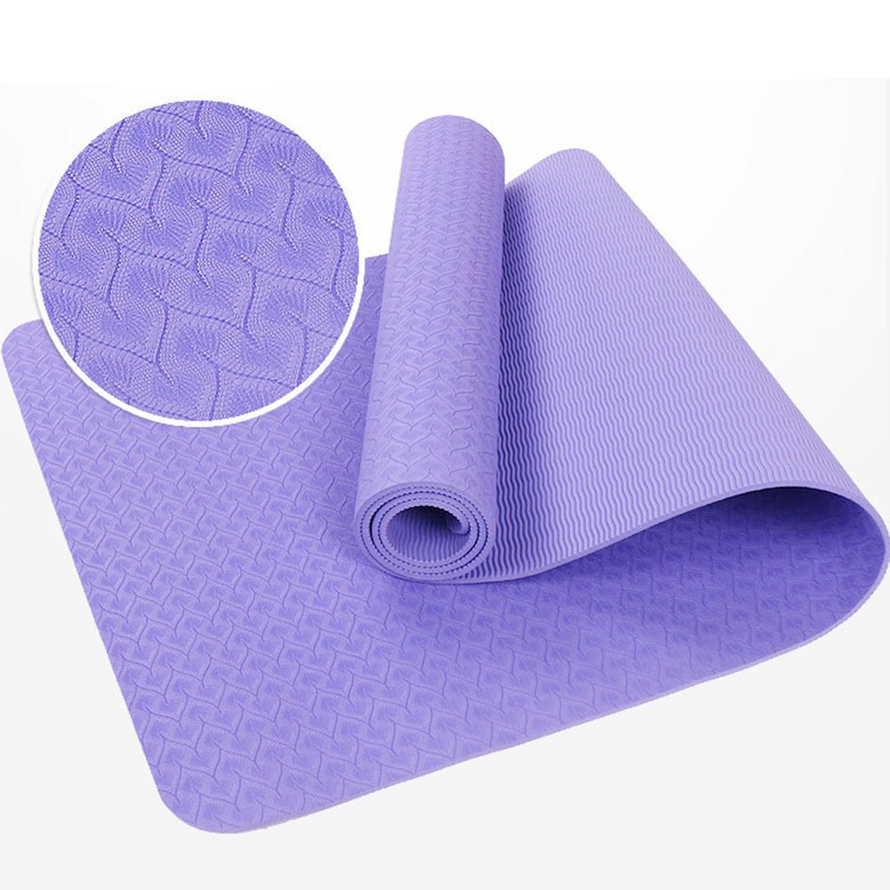 Amazon.com : CIDEROS Extra Long Wide Thick Yoga Mat 6mm ...