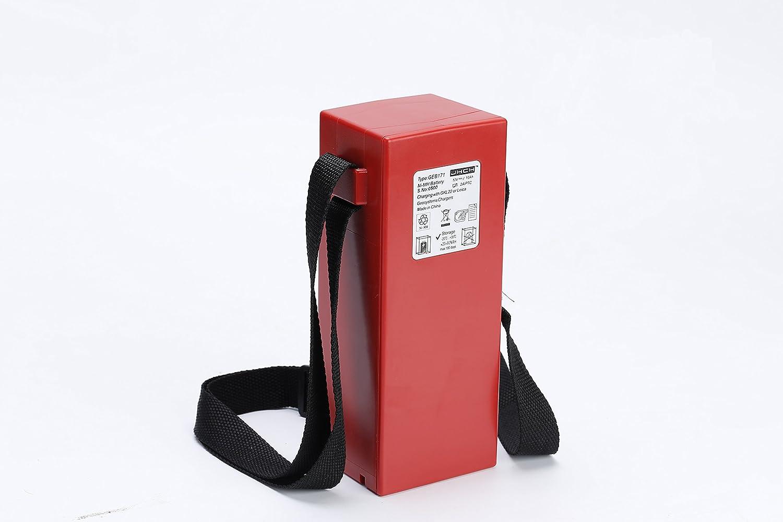 J&H PRO Compatible a estrenar 12V 10000mAh GEB171 NI-MH Trabajo de la batería Externa para el Equipo de topografía