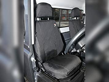 Excellent Amazon Com Land Rover Defender 90 110 2007 2016 Front Seats Short Links Chair Design For Home Short Linksinfo