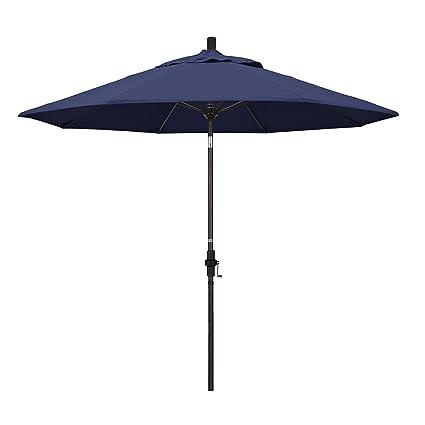 Amazon.com: California Umbrella paraguas de tela Olefin de 9 ...
