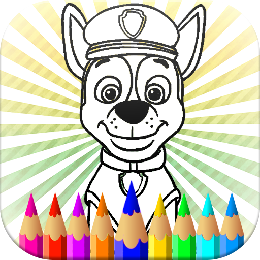 Paw Pups - Coloring Pages Cartoons Kids :