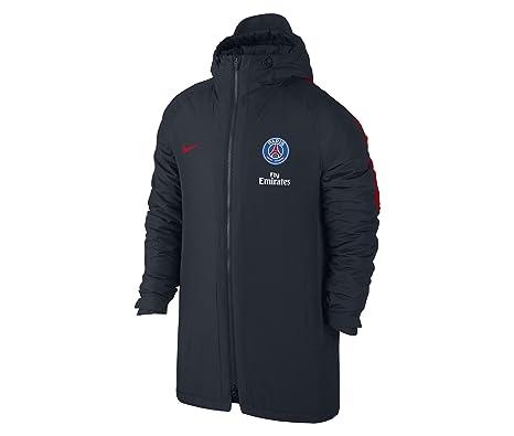 Nike PSG M JKT SQD SDF Chaqueta Paris Saint Germain, Hombre, Azul (Dark