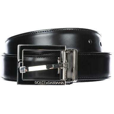 60040a642ed Dolce   Gabbana ceinture homme nero 95 cm  Amazon.fr  Vêtements et ...