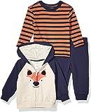 Little Me - Suéter con Capucha para bebé (3 Piezas)