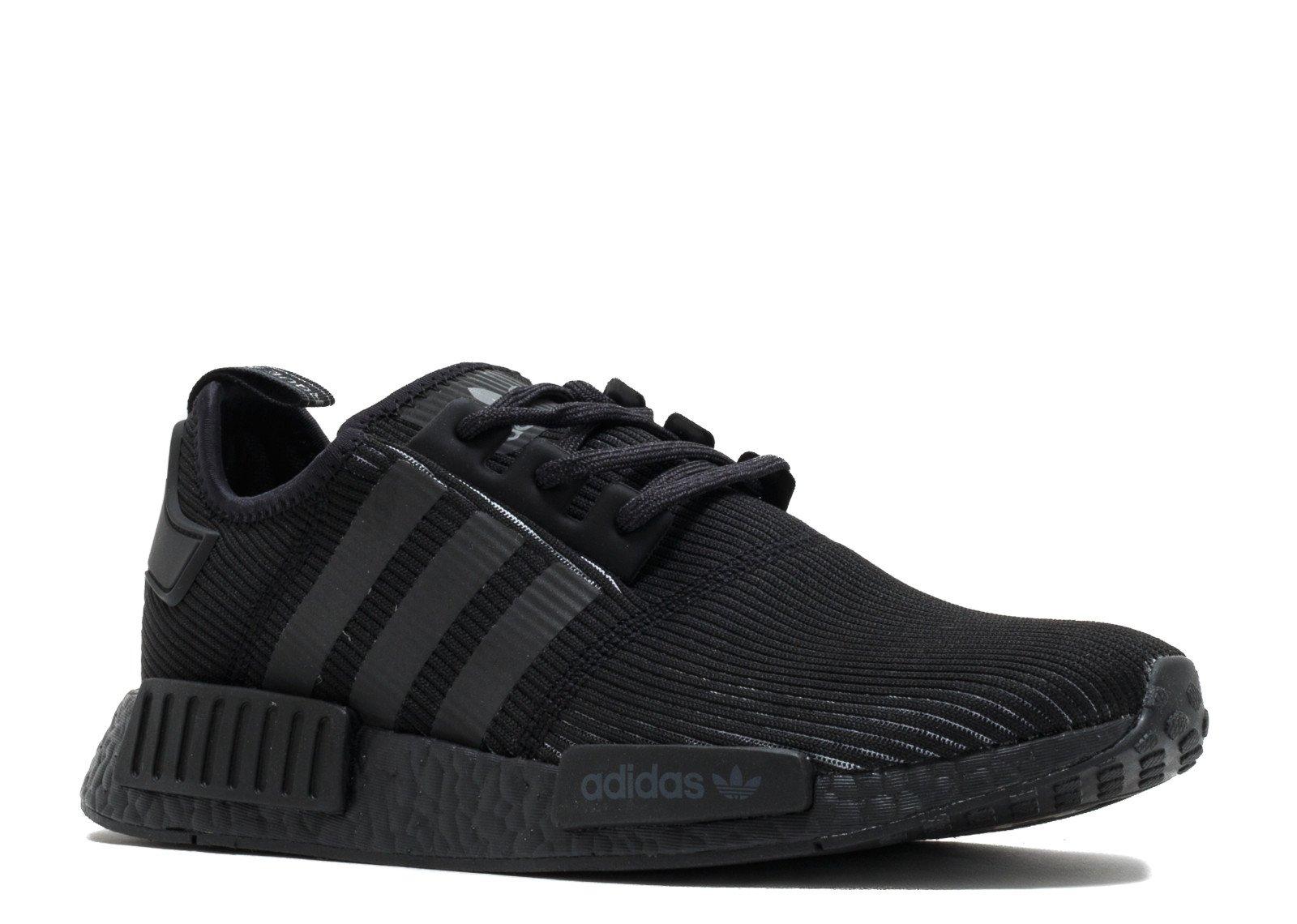 adidas Originals Men's NMD_R1 Running Shoe, Core Utility Black, 8 .5 M US