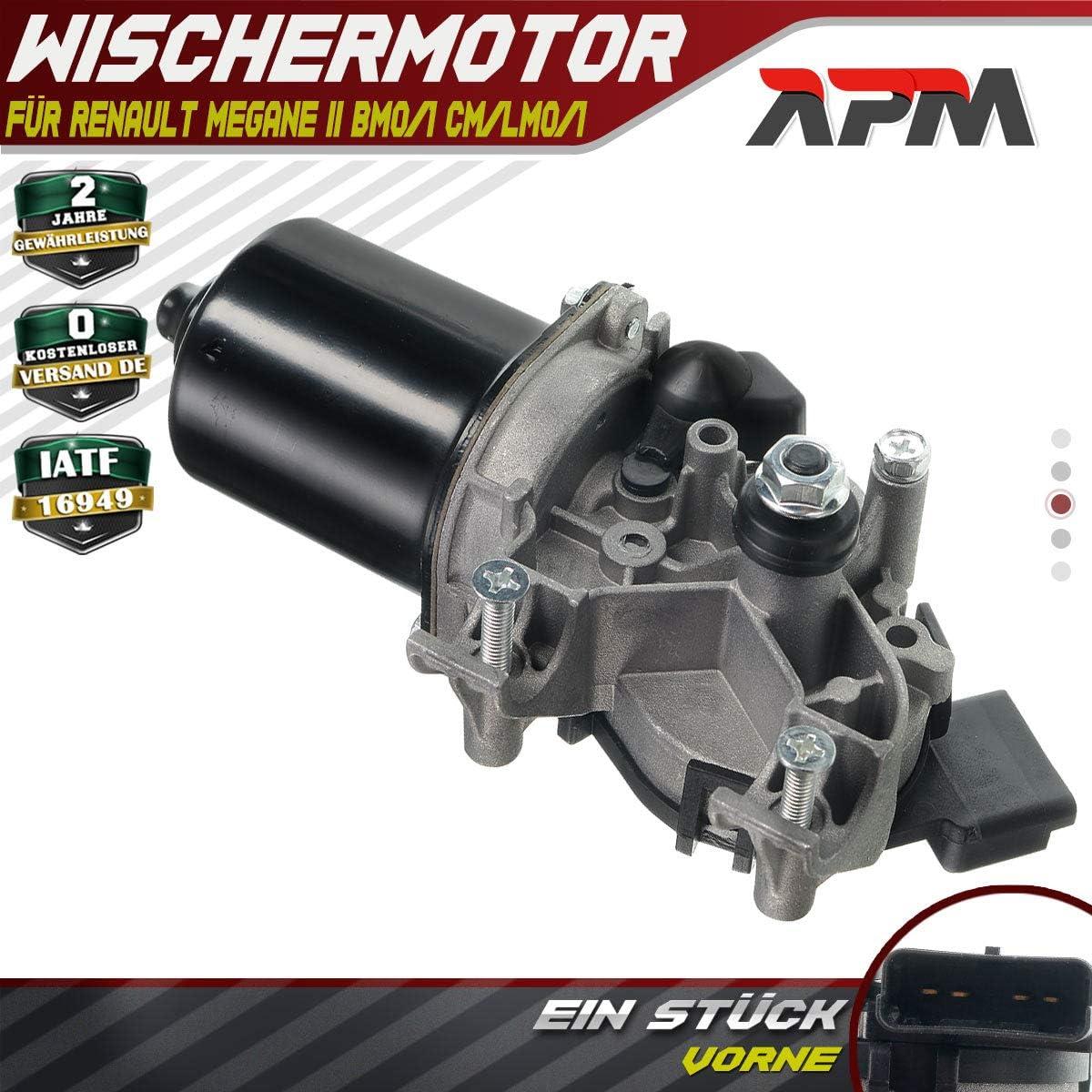 Motor de limpiaparabrisas para Megane II BM0/1_ CM0/1_ Coupé-Cabriolet EM0/1_ Kombi KM0/1_ LM0/1_ 2002-2008 7701054828