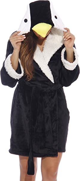 Women's Penguin Robe