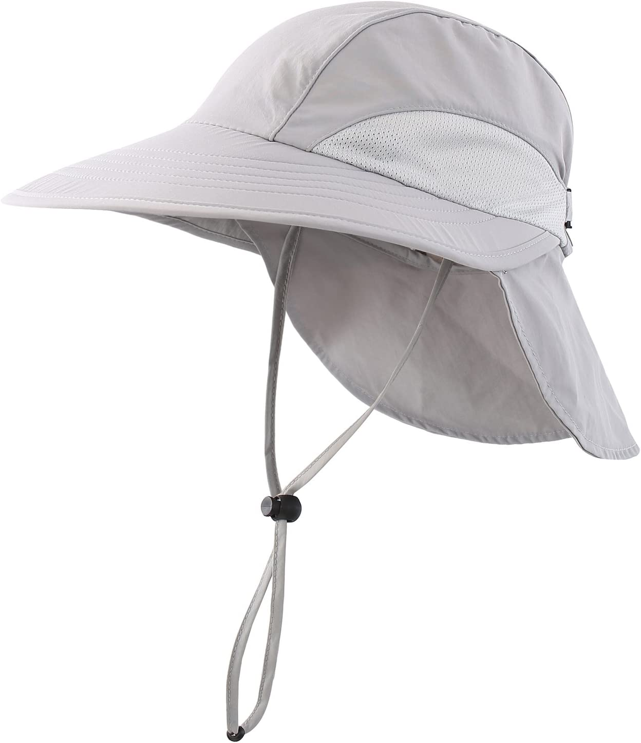 Home Prefer Men s Sun Hat Wide Brim Light Weight Fishing Hat with Neck Flap