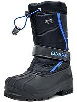 DREAM PAIRS Boys & Girls Toddler/Little Kid/Big Kid Mid Calf Waterproof Winter Snow Boots