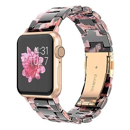 Amazon.com: Wearlizer - Correa de repuesto para Apple Watch ...