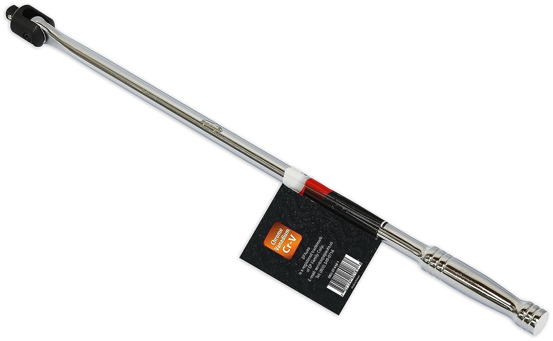 EPAuto 1//2-Inch Drive by 24 Length Breaker Bar CR-V Steel