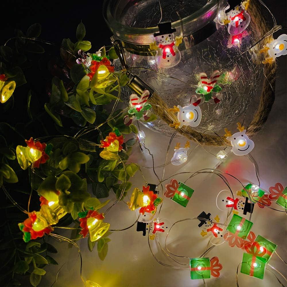 Christmas Decorations 2020 Gifts Lights Amazon.com: Nurluce LED Christmas Lights Case 160 Pcs Buttons