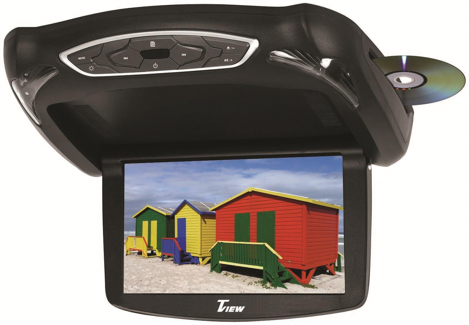 T-View 12Volt Mobile Video - Model#: T133DVFD