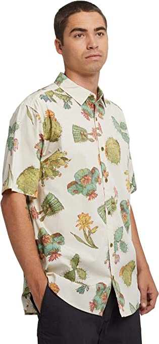 Burton Mens Shabooya Camp Short Sleeve, Cactus, Medium: Amazon.es: Ropa y accesorios