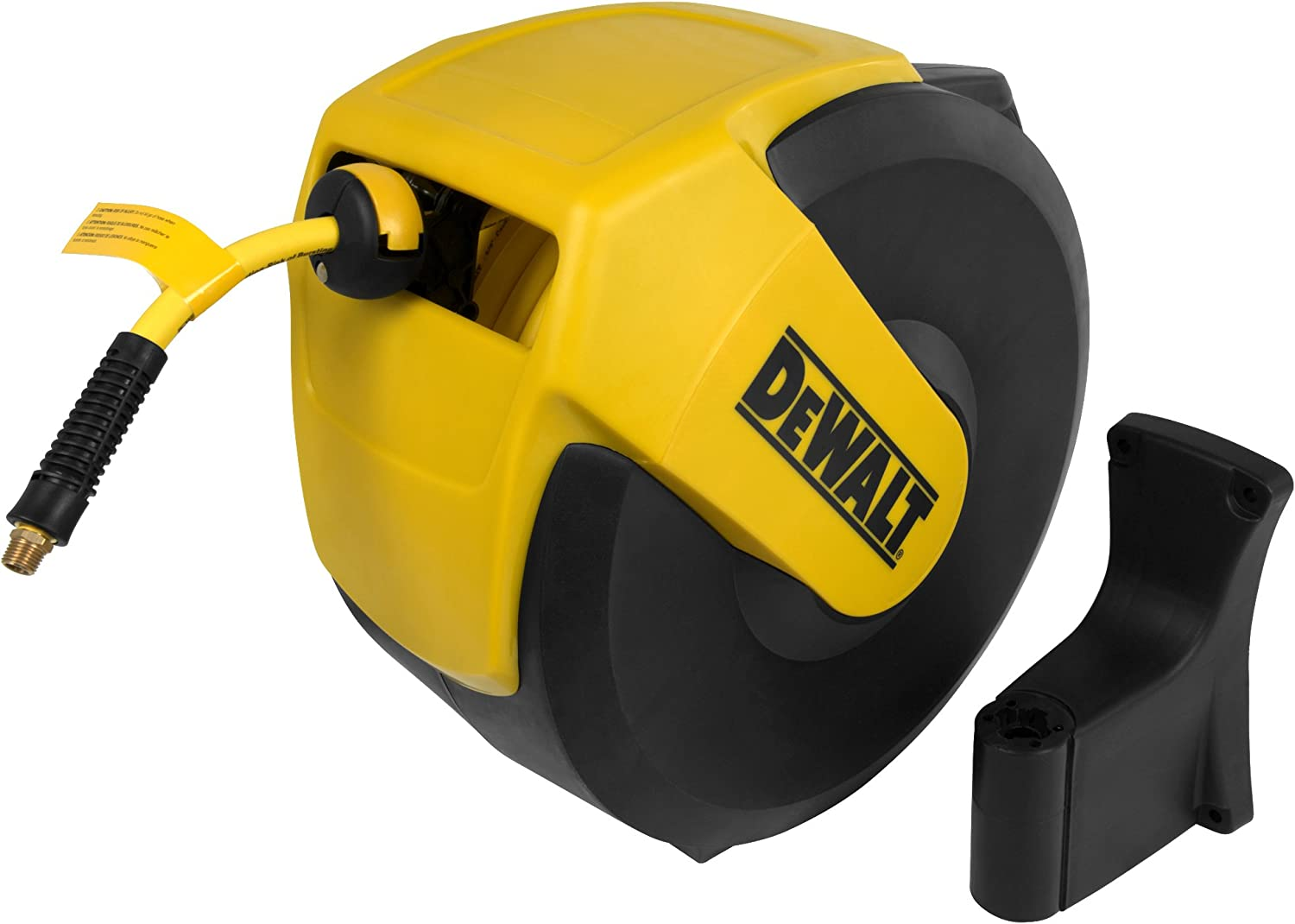 DeWalt DXCM024-0345 Hose Reel Automatic Retraction Enclosed Air Hose Reel - -