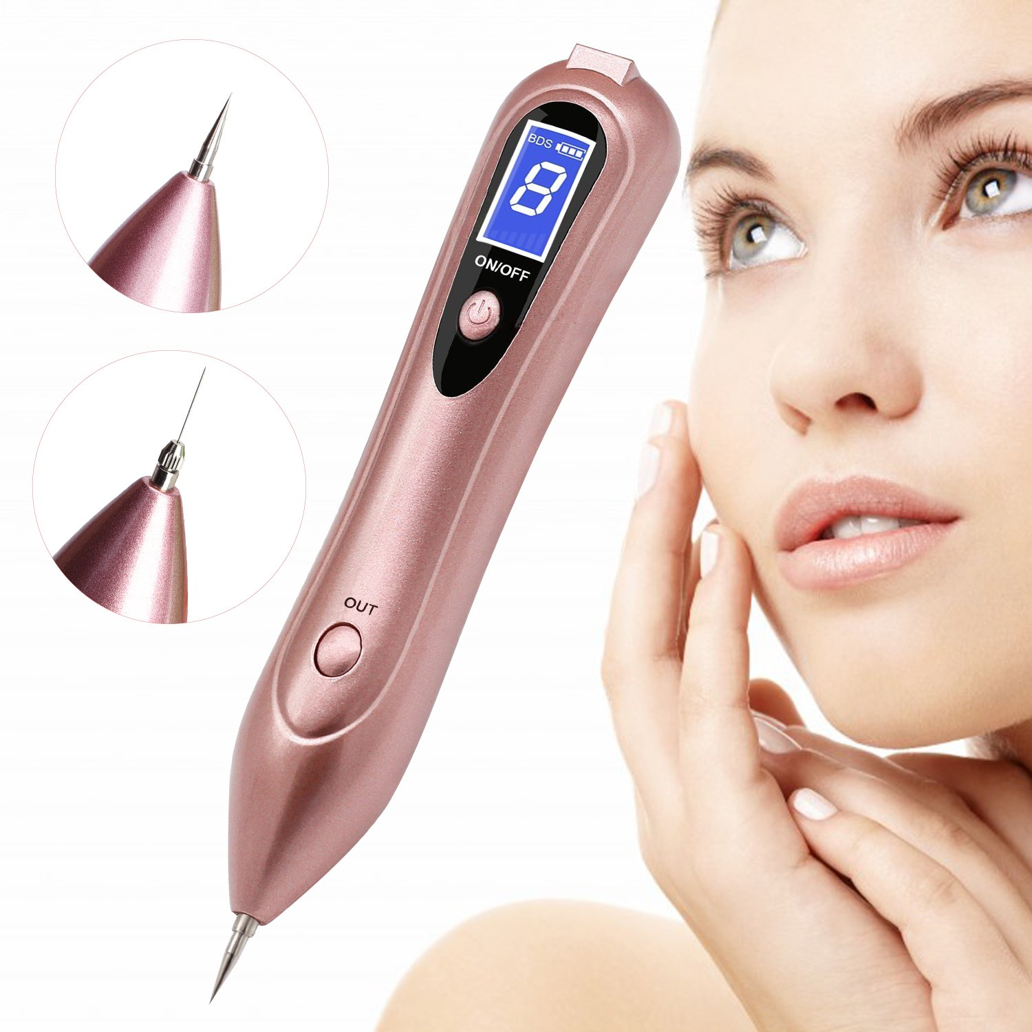 Websun Skin Tags Removal Usb Charging Tattoo Removal Pen 8 Strength Levels Professional Spot Removal Pen Buy Online In Gibraltar Websun Products In Gibraltar See Prices Reviews And Free