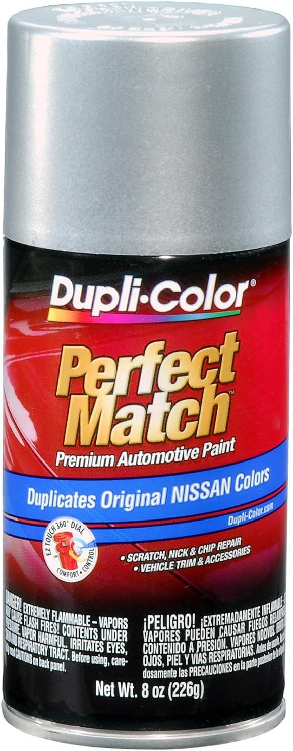 Dupli-Color BNS0595-6 PK (EBNS05957-6 PK) Platinum Metallic Nissan Perfect Match Automotive Paint - 8 oz. Aerosol