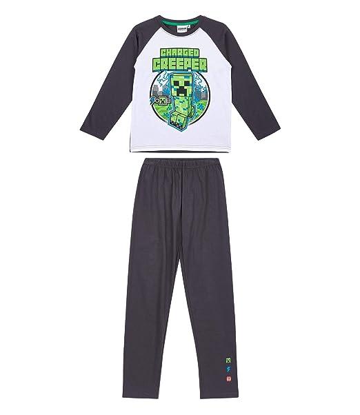 énorme réduction nouveaux articles obtenir de nouveaux Minecraft Pyjama Grey: Amazon.co.uk: Clothing