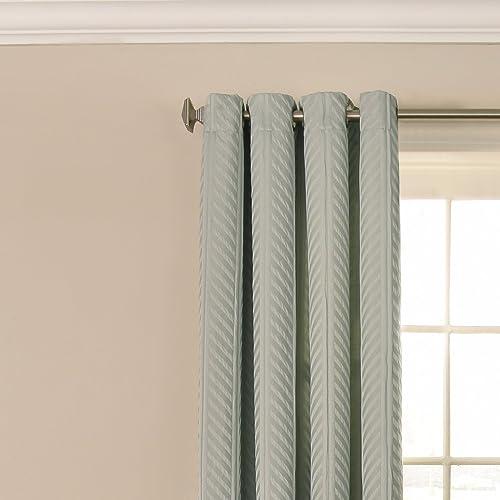 BEAUTYREST 52″ x 63″ Window Treatment Thermal Insulated Single Panel Grommet Top Darkening Curtain