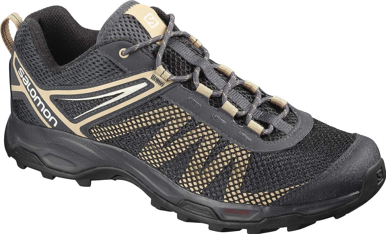 gris (Ebony Taos Taupe Vanilla Ice) 48 EU Salomon X Ultra Mehari, Chaussures de Randonnée - Homme
