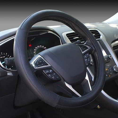 SEG Direct Microfiber Leather Steering Wheel Cover