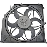 Radiator Cooling Fan Assembly with Module for 12-14 Ford Focus