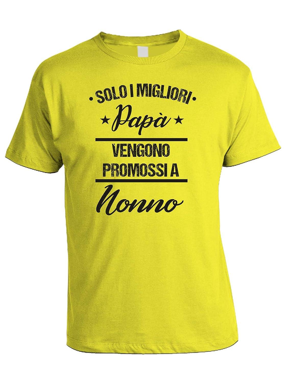 Dad Evento Solo i Migliori pap/à vengono promossi a Nonno bubbleshirt Tshirt Festa del pap/à Happy Fathers Day