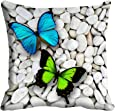 meSleep Colorful Butterfly Cushion Cover