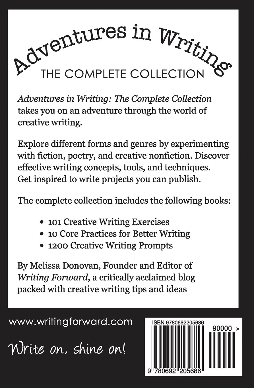 Adventures in Writing: The Complete Collection: Melissa Donovan:  9780692205686: Amazon.com: Books