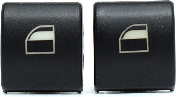 2x Vorne Links Rechts Fensterheber Schalter Taste Tasten Fensterheberschalter Reparatur Satz Schalttaste Auto