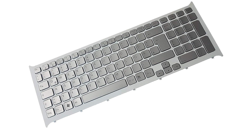 X-Comp - Teclado para Sony Vaio VPC-CB VPC-CB15 VPC-CB17, Incluye luz Trasera, Plateado: Amazon.es: Informática