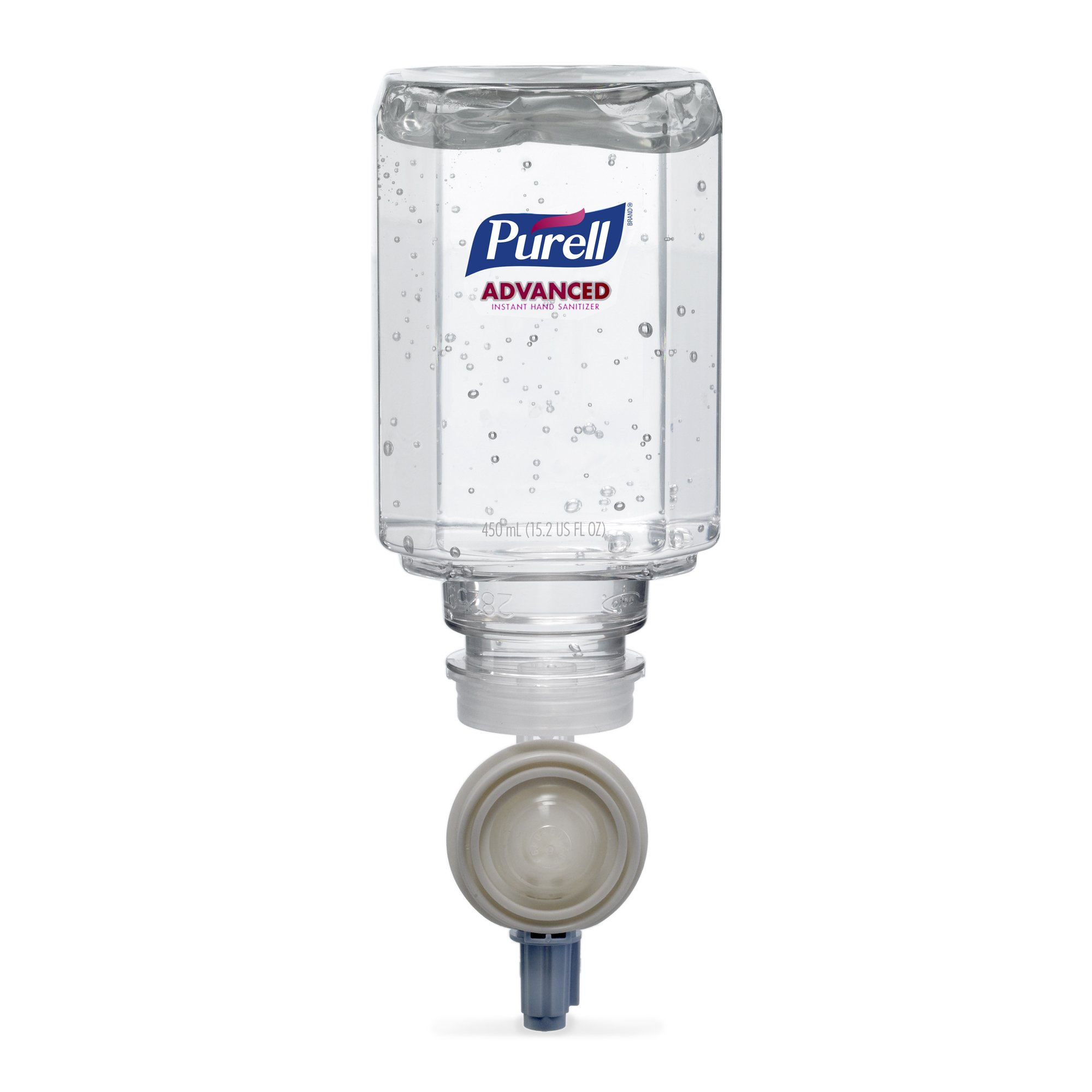 Purell 1450-02 Everywhere System Advanced Hand Sanitizer Gel Refill, 2-450 mL (Pack of 2)