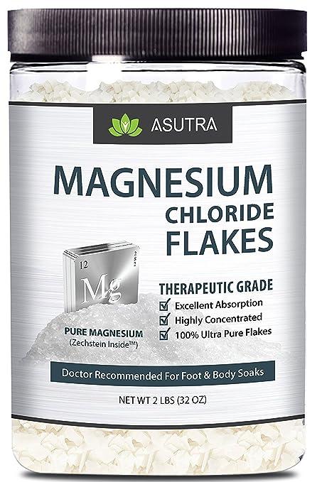 Pure Zechstein - Copos de cloruro de magnesio – Doctor recomendado para pies y jabones corporales