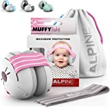 Alpine Muffy Baby Ear Protection for Newborn and Babies up to 36 Months – Noise Reduction Earmuffs for Toddlers and Children