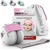 Alpine Muffy Baby Kapselhörselskydd för spädbarn och småbarn upp till 36 månader – bullerskydd förhindrar hörselskador…